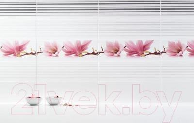 Плитка Ceramika Paradyz Abrila Bianco (600x200)