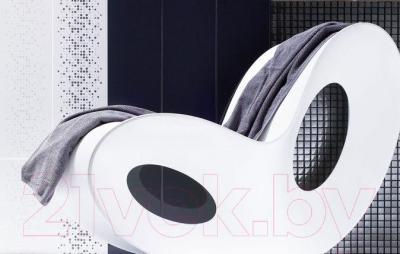 Декоративная плитка для ванной Ceramika Paradyz Abrila Kropki B (600x200)