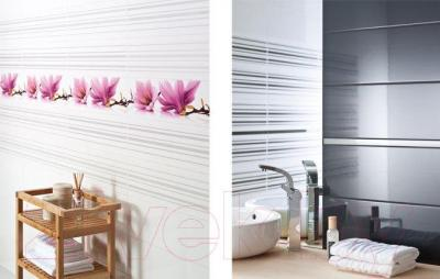 Декоративная плитка Ceramika Paradyz Abrila Kwiaty A (600x200)