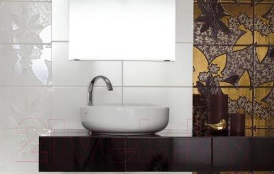 Декоративная плитка для ванной Ceramika Paradyz Artable Bianco A (400x250)