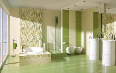 Плитка для пола ванной Ceramika Paradyz Carioca Alan Verde (333x333)