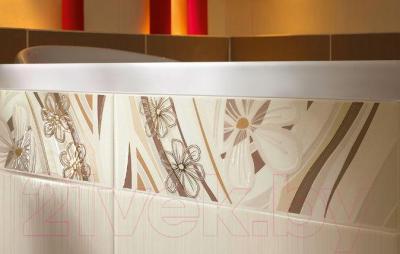 Декоративная плитка для ванной Ceramika Paradyz Carioca Beige A (400x250)
