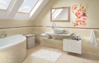 Декоративная плитка Ceramika Paradyz Coraline Beige Struktura (600x300)