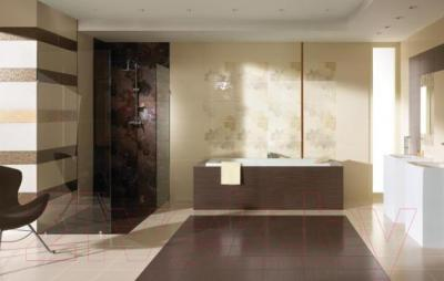 Бордюр Ceramika Paradyz Delicate Brown Arabeska (500x150)