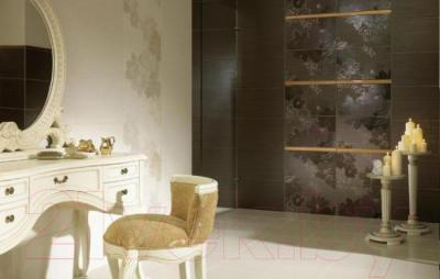 Декоративная плитка Ceramika Paradyz Delicate Brown B (500x300)