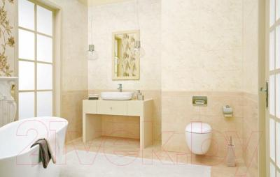 Бордюр Ceramika Paradyz Inspiration Beige Strukturalna (600x80)