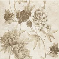 Декоративная плитка для ванной Ceramika Paradyz Панно Inspiration Beige Kwiat (600x600) -