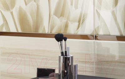 Декоративная плитка для ванной Ceramika Paradyz Панно Coraline Tulipany (600x600)