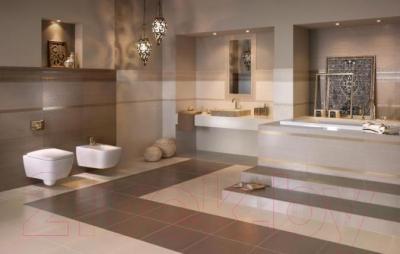 Бордюр для ванной Ceramika Paradyz Meisha Bianco (600x90)