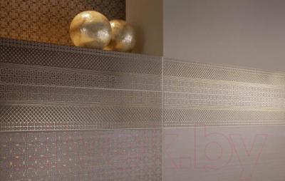 Бордюр для ванной Ceramika Paradyz Meisha Brown (600x30)