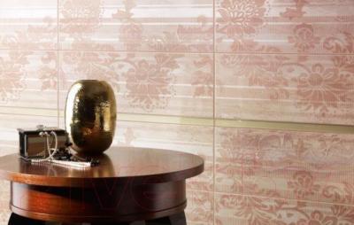 Декоративная плитка для ванной Ceramika Paradyz Miriam Beige A (600x200)