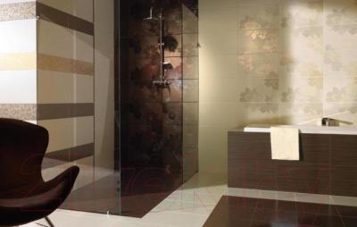 Декоративная плитка для ванной Ceramika Paradyz Delicate Beige C (500x300)