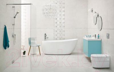 Бордюр для ванной Ceramika Paradyz Nirrad Grys (600x40)