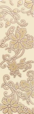 Бордюр Ceramika Paradyz Delicate Beige Kwiat (500x150)