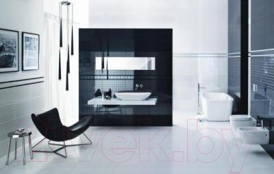 Бордюр для ванной Ceramika Paradyz Piumetta Bianco A (595x70)