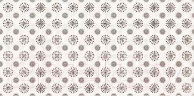 Декоративная плитка для ванной Ceramika Paradyz Piumetta Bianco B (595x295)