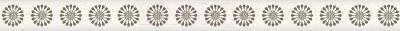 Бордюр Ceramika Paradyz Piumetta Bianco Murano (295x23)