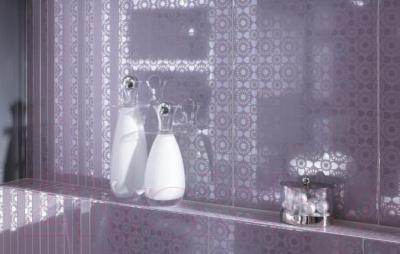 Бордюр для ванной Ceramika Paradyz Piumetta Grys A (595x70)