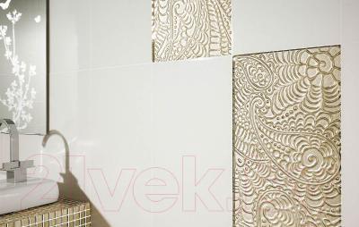 Бордюр для ванной Ceramika Paradyz Ricoletta Beige (595x23)