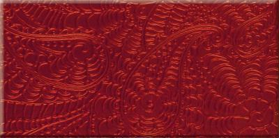 Декоративная плитка для ванной Ceramika Paradyz Ricoletta Karmazyn (595x295)