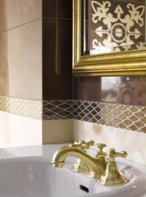Декоративная плитка Ceramika Paradyz Sabro Brown Murano (595x295)