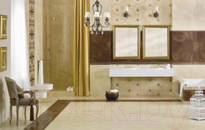 Бордюр Ceramika Paradyz Sabro Gold Poduszki (595x70)