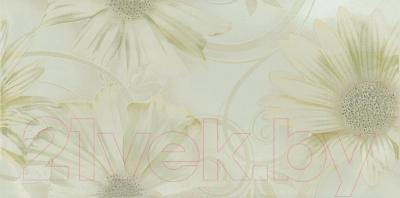 Декоративная плитка для ванной Ceramika Paradyz Sabro Verde Kwiat (595x295)