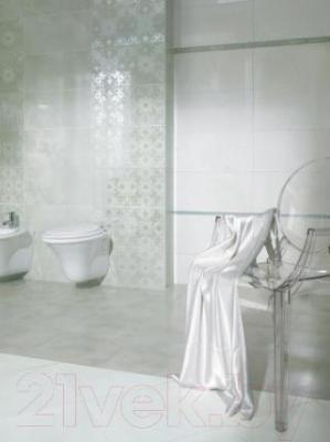 Бордюр для ванной Ceramika Paradyz Sabro Verde (595x40)