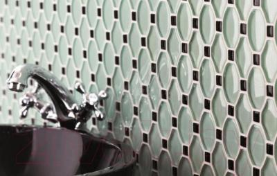Бордюр для ванной Ceramika Paradyz Secret Bianco A (296x27)