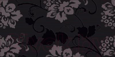 Декоративная плитка Ceramika Paradyz Secret Nero B (595x295)