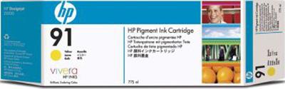 Комплект картриджей HP 91 (C9485A) 3 шт - общий вид