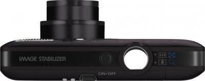 Компактный фотоаппарат Canon IXUS 100 IS (PowerShot SD780 IS) Black - вид сверху