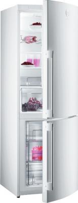 Холодильник с морозильником Gorenje NRK65SYW - общий вид