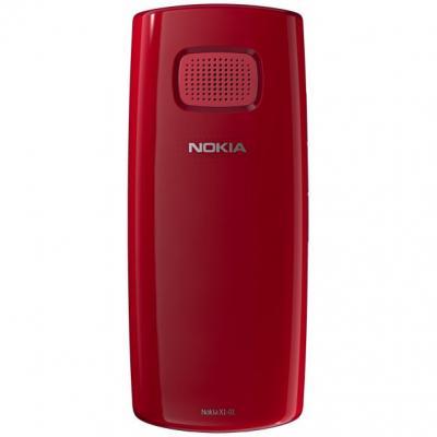 Мобильный телефон Nokia X1-01 Red - сзади