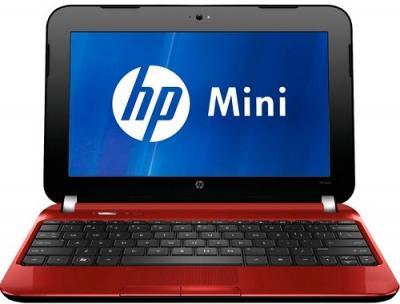 Ноутбук HP Mini 110-4104er (B1P18EA) - Вид спереди