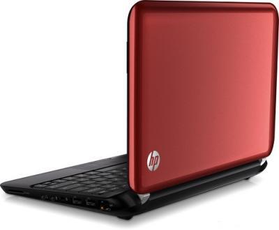 Ноутбук HP Mini 110-4104er (B1P18EA) - Вид сзади