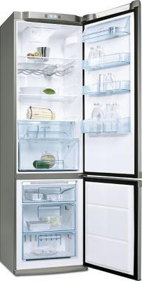 Холодильник с морозильником Electrolux ENB39409X - Вид спереди