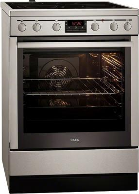 Кухонная плита AEG 47056VS-MN - Вид спереди