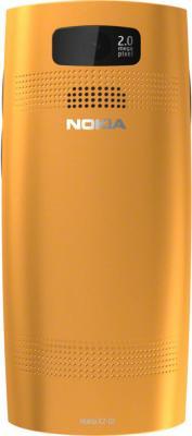 Мобильный телефон Nokia X2-02 Orange - задняя панель
