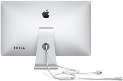 "Монитор Apple Thunderbolt Display 27"" (MC914ZE/A) - вид сзади"