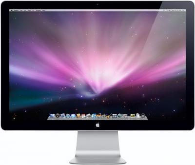 "Монитор Apple LED Cinema Display 27"" (MC007ZE/A) - общий вид"