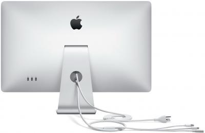 """Монитор Apple LED Cinema Display 27"""" (MC007ZE/A) - вид сзади"""