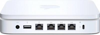 Беспроводная точка доступа Apple AirPort Extreme Base Station (MD031RS/A) - разъемы