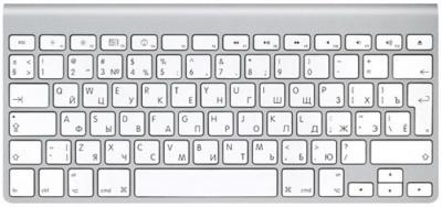 Клавиатура Apple Wireless Keyboard MC184RS/B - общий вид