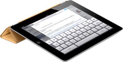 Чехол для планшета Apple iPad Smart Cover Tan (MD302ZM/A) - опция подставки