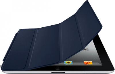 Чехол для планшета Apple iPad Smart Cover Navy (MD303ZM/A) - гибкая обложка