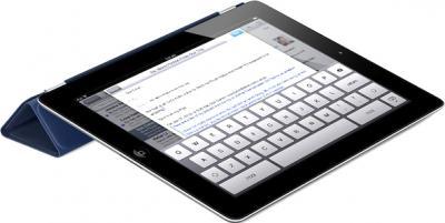 Чехол для планшета Apple iPad Smart Cover Navy (MD303ZM/A) - опция подставки