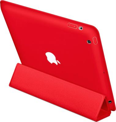 Чехол для планшета Apple iPad Smart Case Red (MD579ZM/A) - опция подставки