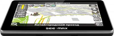 GPS навигатор SeeMax navi E610 HD 8GB ver. 2 - вид сверху