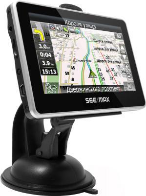 GPS навигатор SeeMax navi E410 ver. 2 - вид сбоку